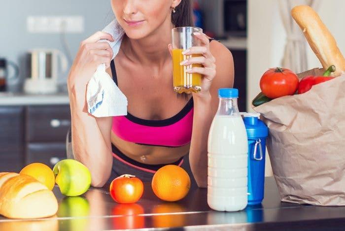 comidas no saludables