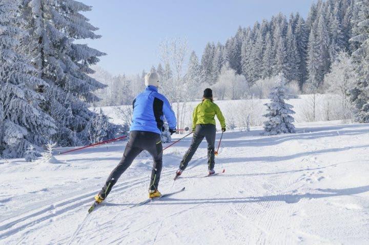 suministro de energía en esquí de fondo