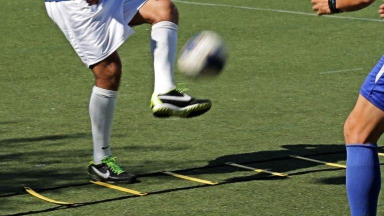 entrenamiento de agilidad para futbolistas
