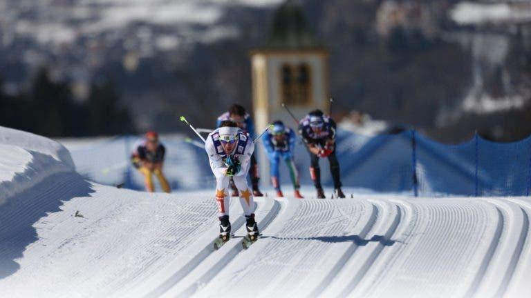 historia del esquí de fondo