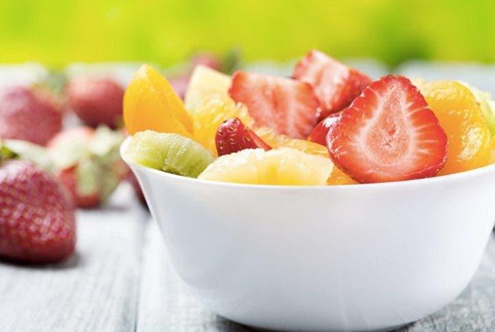 fruta para hidratarse