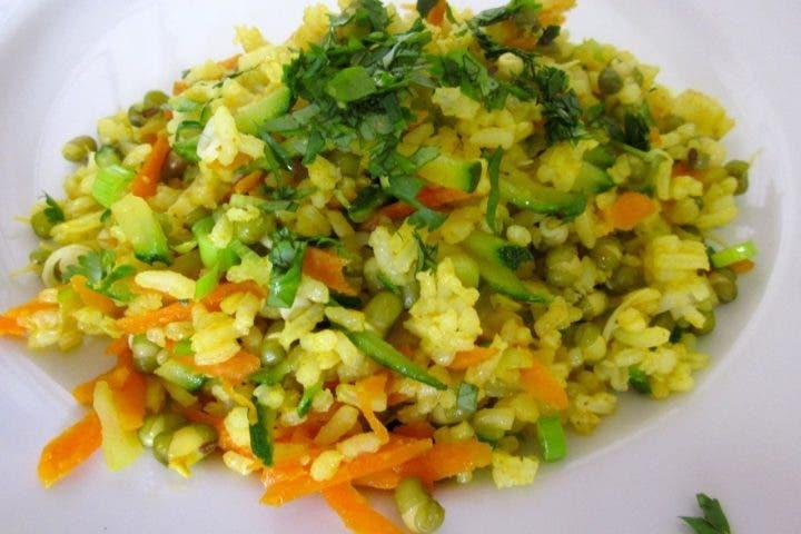 receta de kitchari