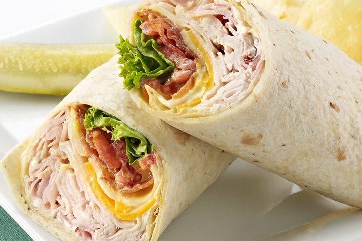 wraps bajos en calorías