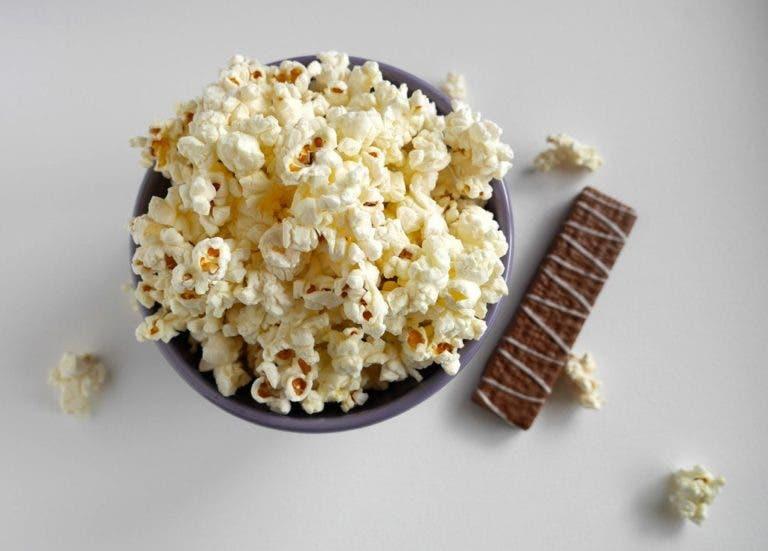 snacks bajos en calorías
