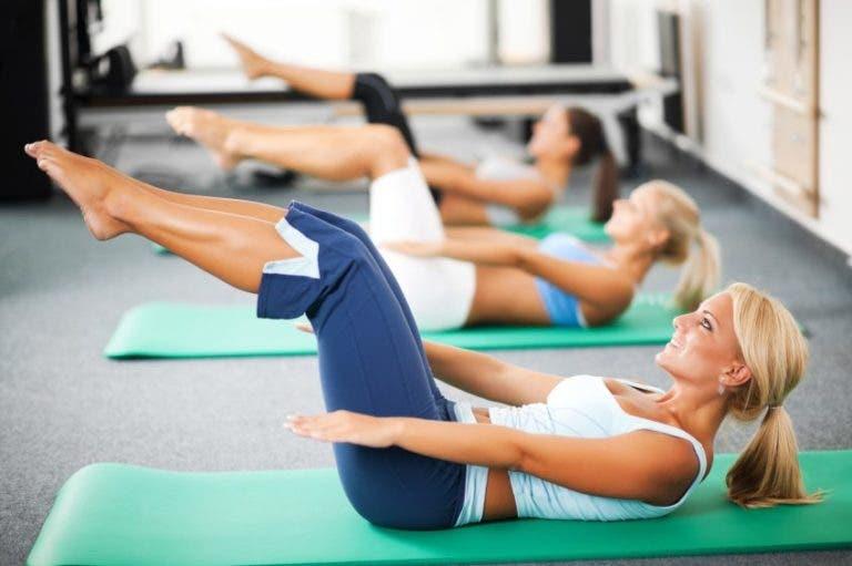 Los mejores ejercicios de Pilates