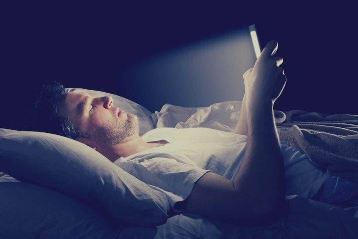 luz azul y calidad del sueño