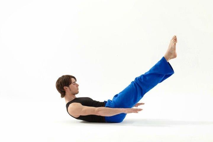 Pilates ejercicio cien