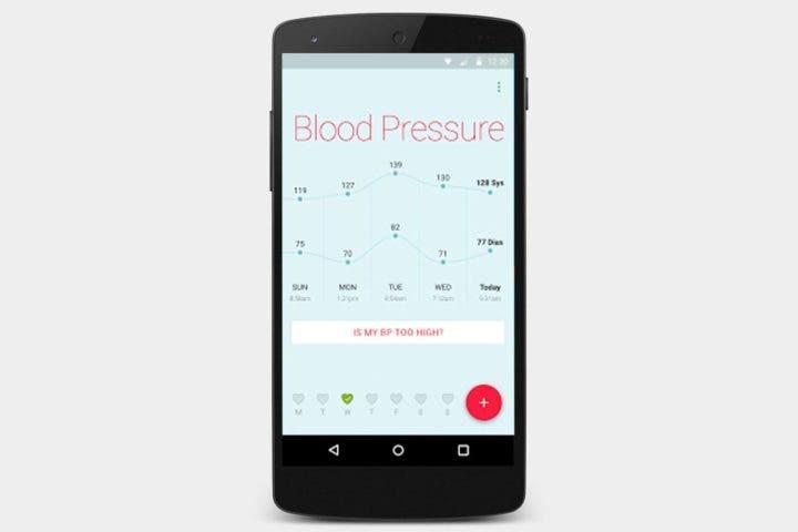 Aplicaciones medidoras de presión arterial