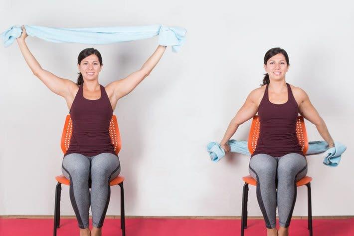 ejercicio de flexibilidad para yoga