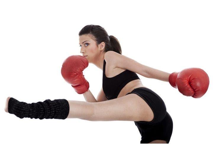 Construir músculo con el kickboxing