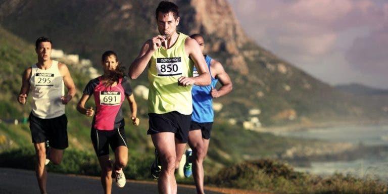 nutrición durante una maratón