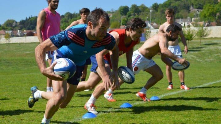 Entrenamiento físico de 4 semanas para jugadores de rugby