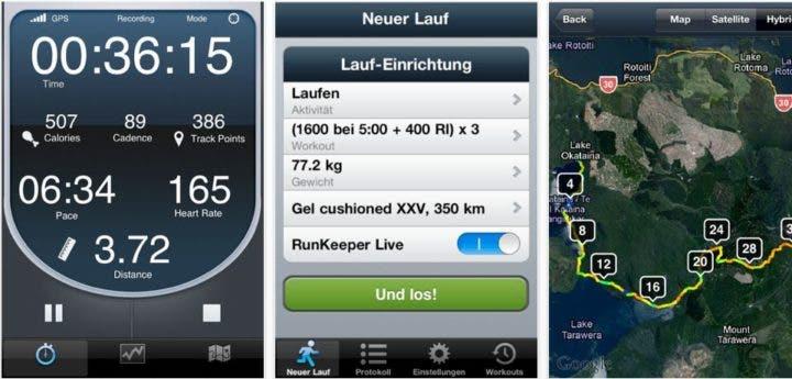 App Smoothrun para entrenar