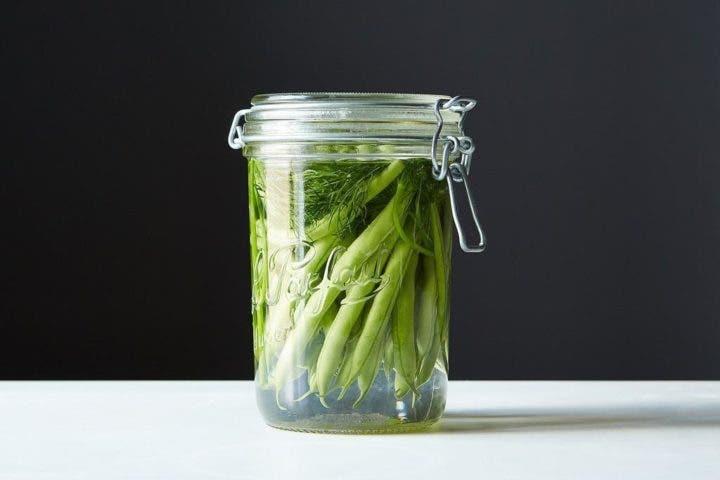 Judías verdes en la cena saludable