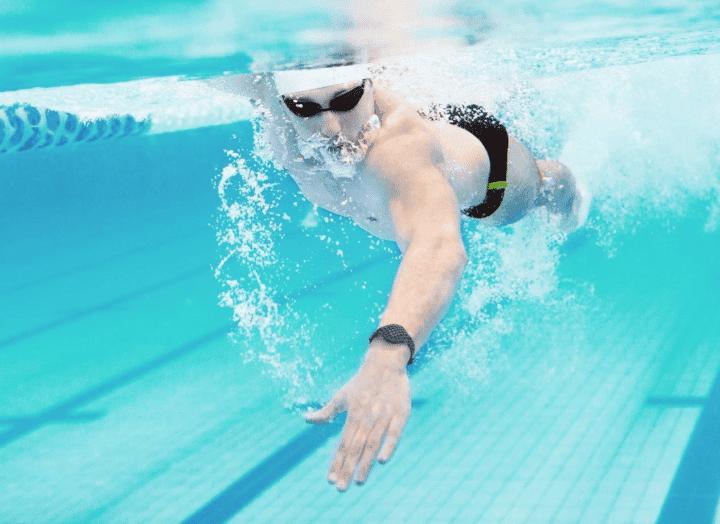 longitud de brazada adecuada en natación