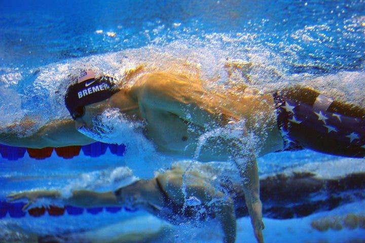 Errores de nadadores: sostener la respiración