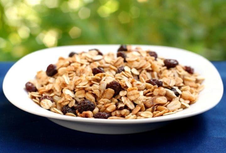 Granola baja en carbohidratos