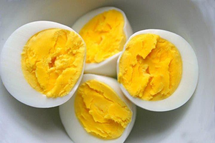 Huevo cocido cremoso