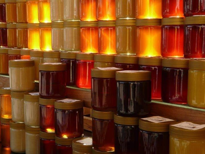 La miel oscura es antioxidante
