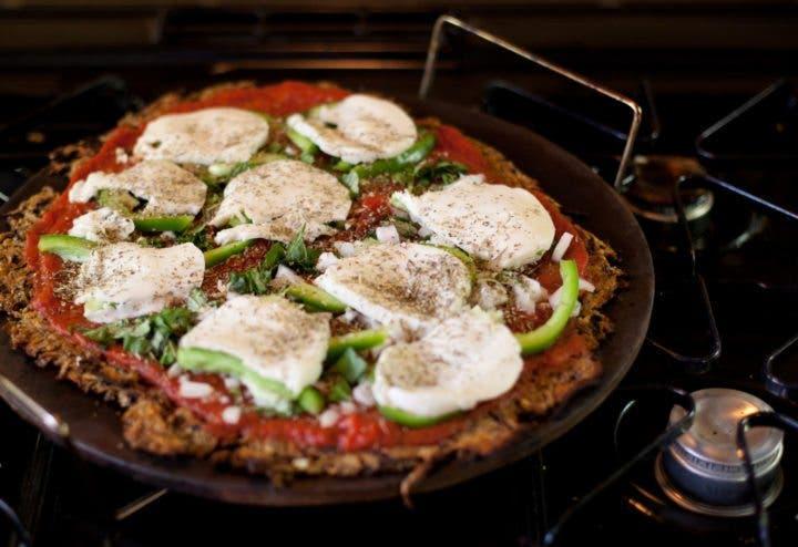 Receta de pizza Paleo