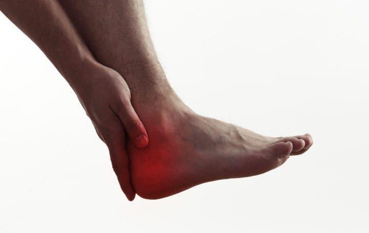 Dolor en el calcáneo del pie