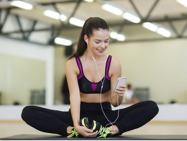 Apps móviles para hacer ejercicio.