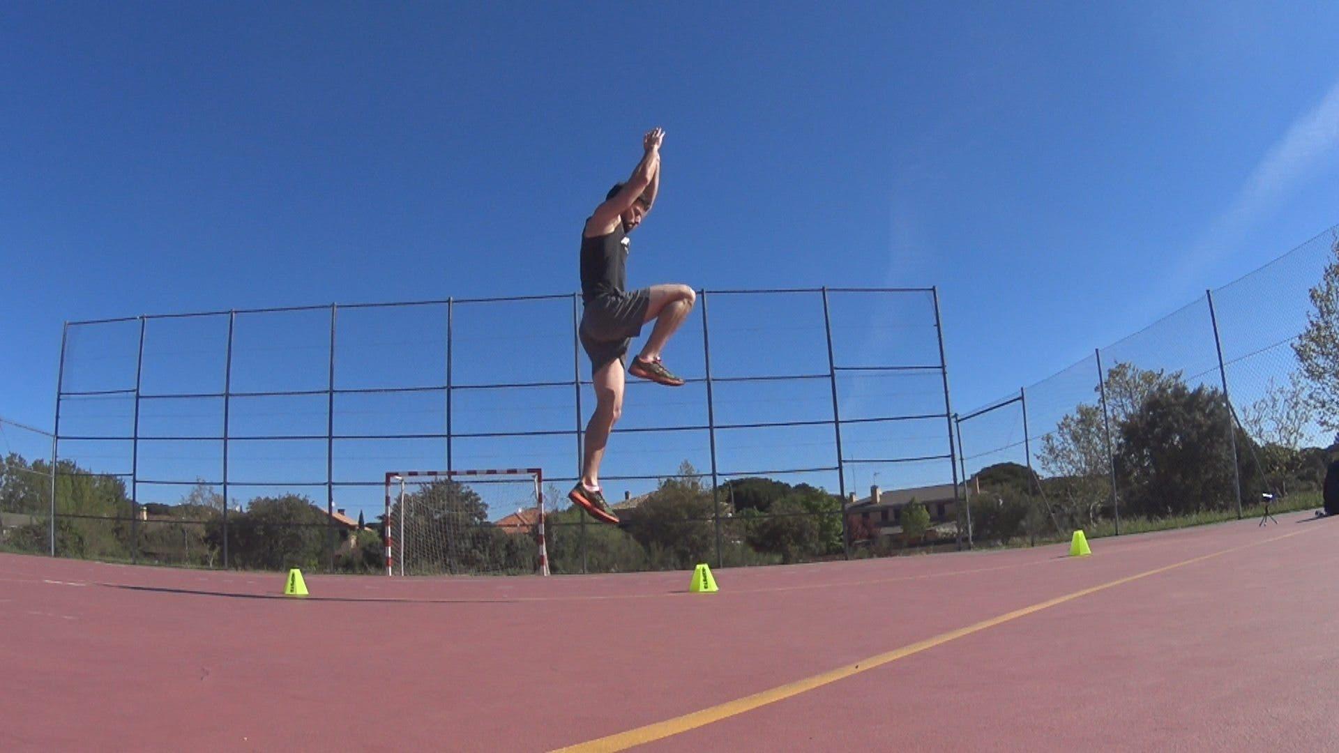 Entrenamiento de nivel básico para aumentar el salto en