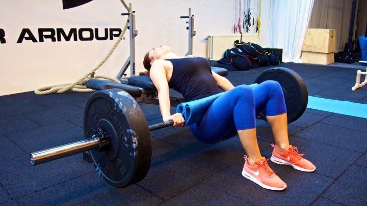 Hip thrust para mejorar los sprints.