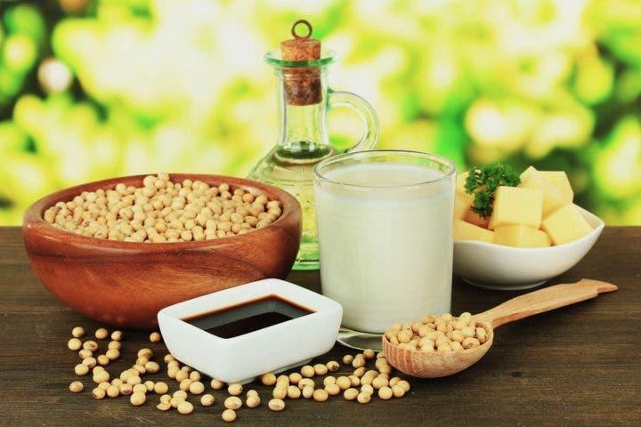 Los alimentos con soja pueden bajar el colesterol