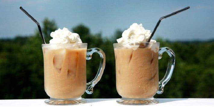 El café helado es muy alto en calorías