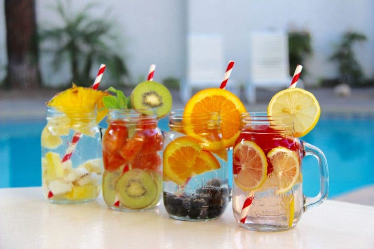 Recetas de aguas con sabor naturales