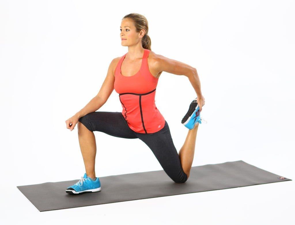 Упражнения для передней поверхности бедра (четырехглавой) 39