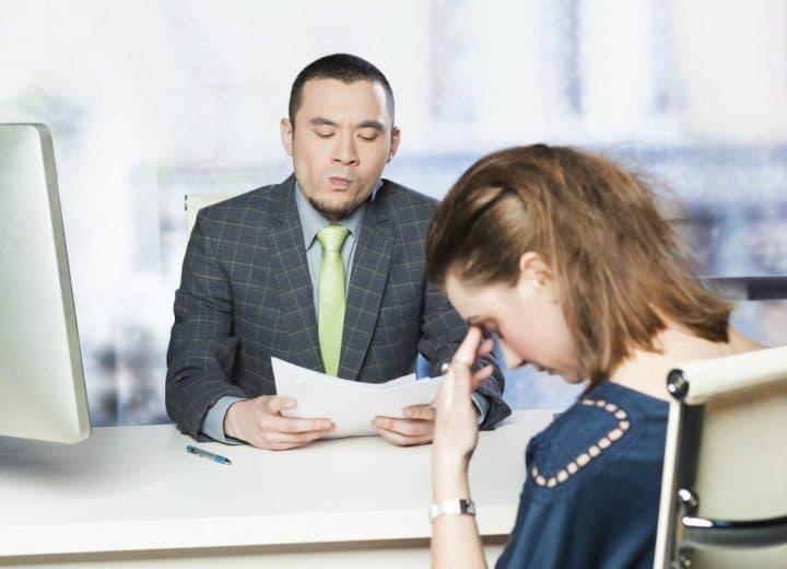 Hablar mal de tu empleo anterior