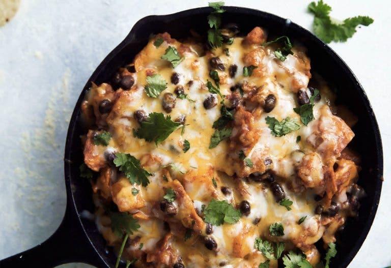 Recetas de ensaladas calientes sabrosas y nutritivas