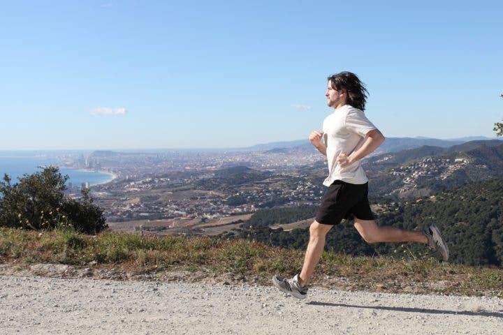 Cómo practicar running en altitud