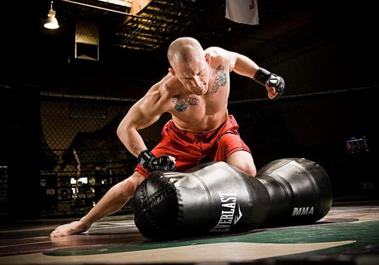 circuitos de torso para luchadores de kickboxing