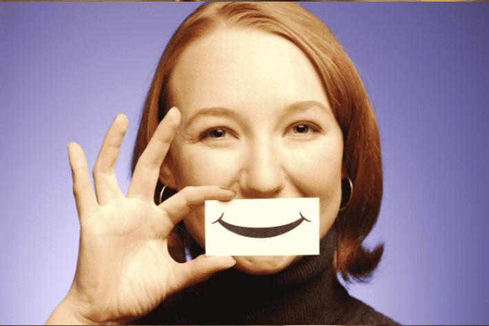 Para ser más positivo en la vida sonríe