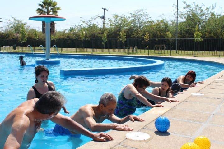 Rehabilitar la espalda a través de la natación