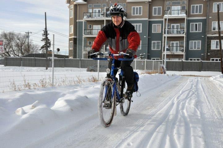 Cómo entrenar con la bicicleta en invierno