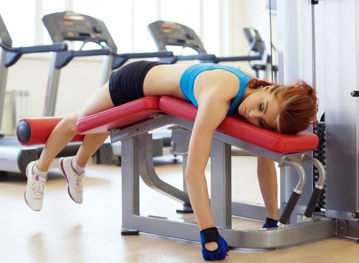 Consecuencias de entrenar menos de tres veces por semana