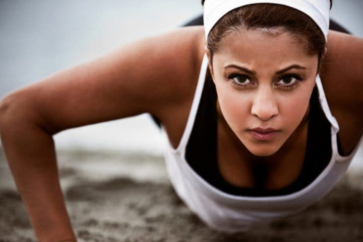 ¿Una mujer puede ganar demasiado músculo?