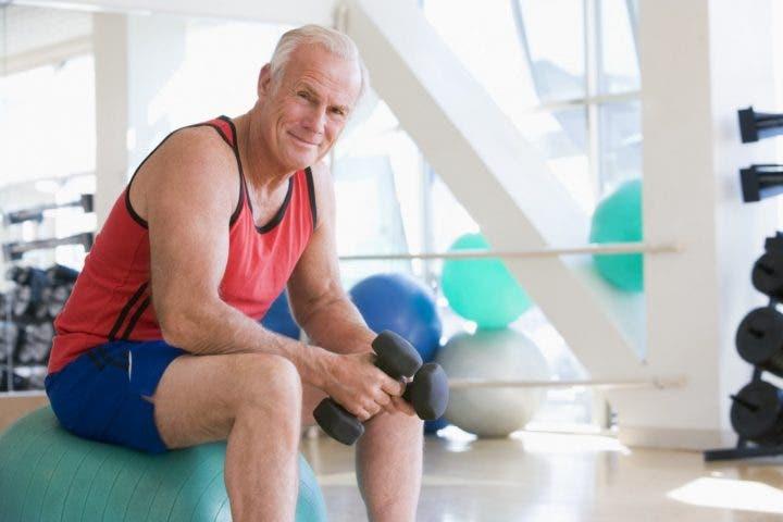 Pruebas de salud en la vejez masculina