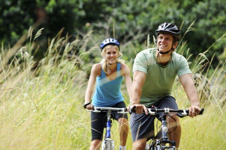 Montar en bicicleta de manera segura en invierno