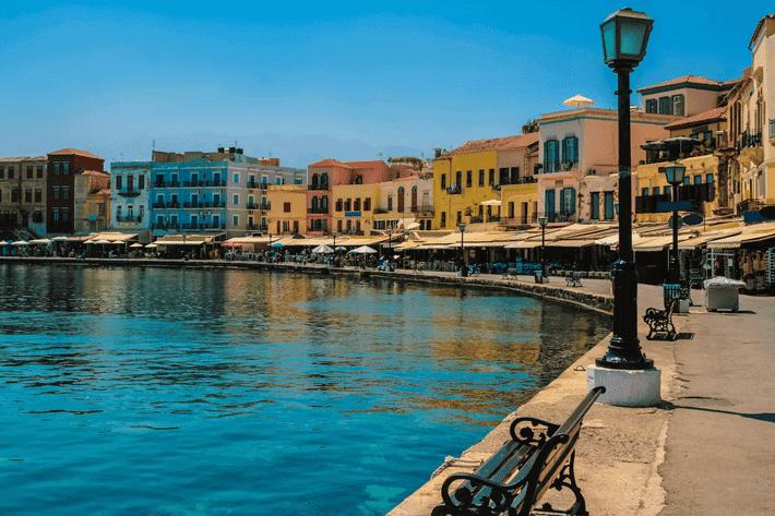 Canea, uno de los destinos más baratos para viajar