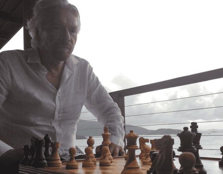 Richard Branson ¿qué hace para tener éxito?