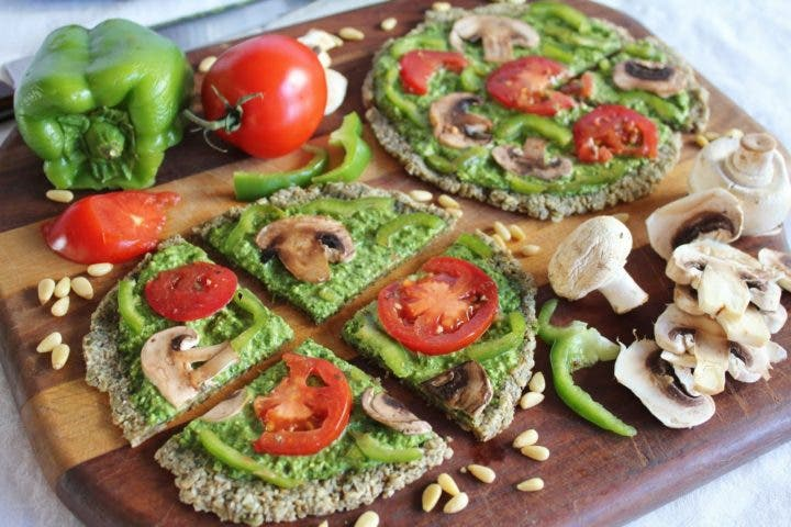 Alimentos incluídos en la dieta crudívora