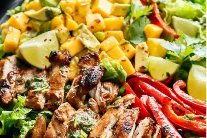 Las mejores ensaladas con proteína