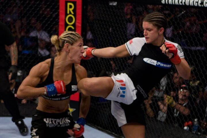Características de luchadores MMA