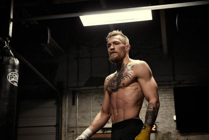 Preparación de un luchador MMA