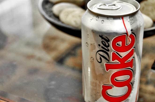 La soda produce muchos gases